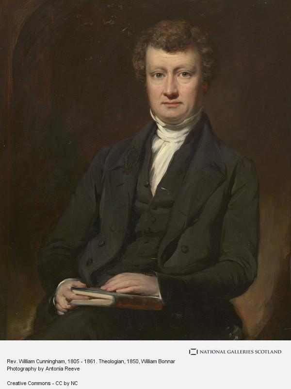 William Bonnar, Rev. William Cunningham, 1805 - 1861. Theologian