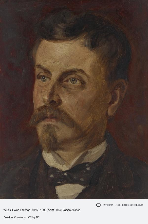James Archer, William Ewart Lockhart, 1846 - 1900. Artist