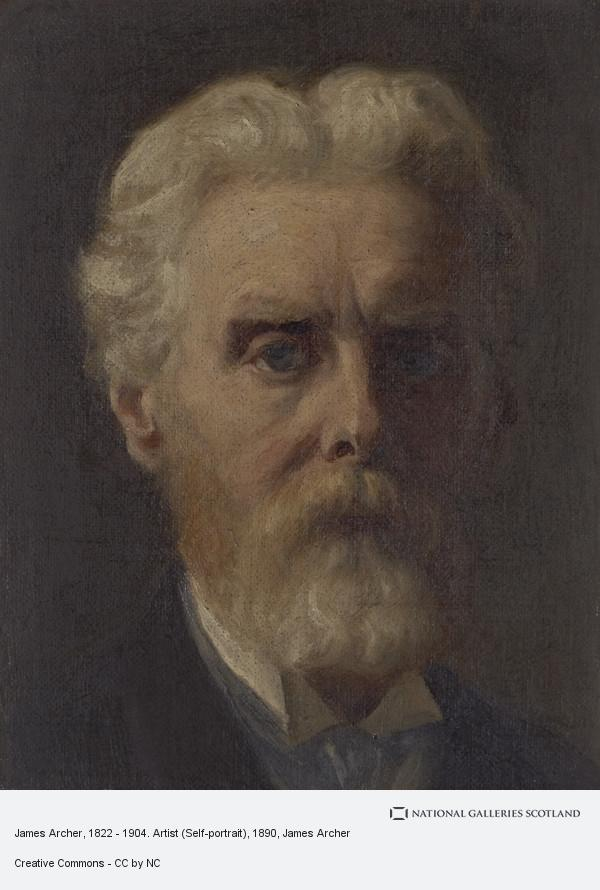 James Archer, James Archer, 1822 - 1904. Artist (Self-portrait)
