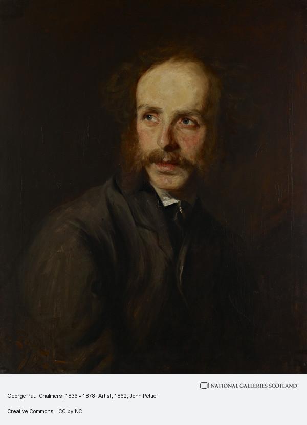 John Pettie, George Paul Chalmers, 1836 - 1878. Artist