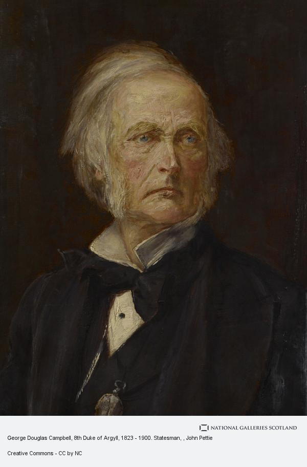 John Pettie, George Douglas Campbell, 8th Duke of Argyll, 1823 - 1900. Statesman