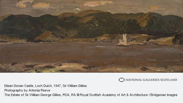Sir William Gillies, Eilean Donan Castle, Loch Duich