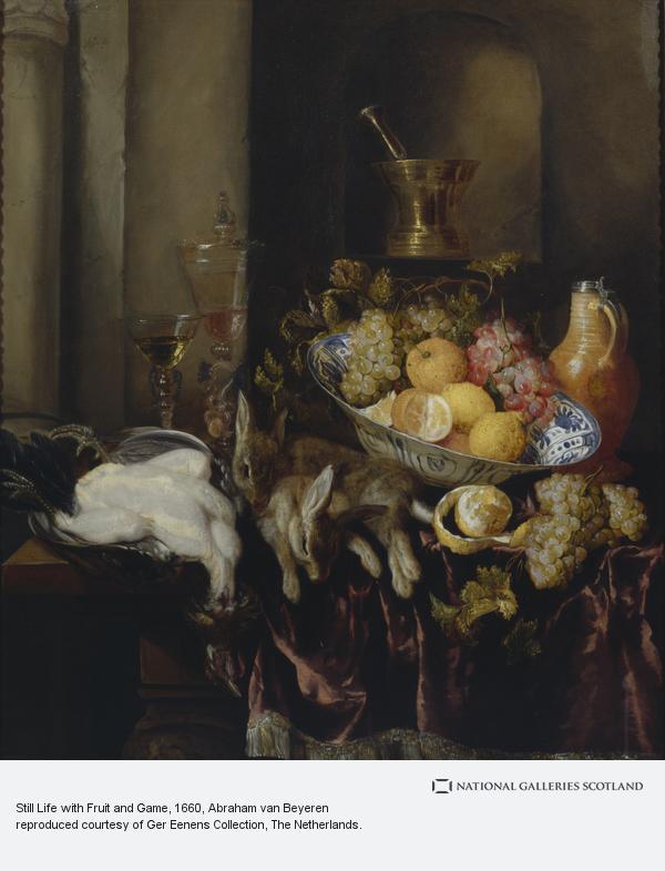 Abraham van Beyeren, Still Life with Fruit and Game