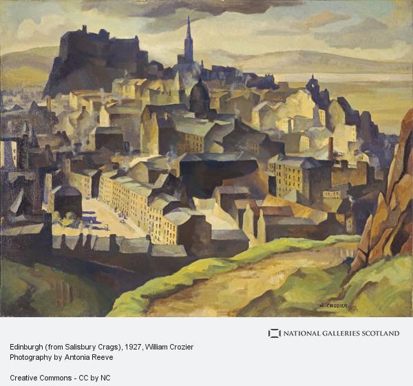 William Crozier, Edinburgh (from Salisbury Crags) (About 1927)