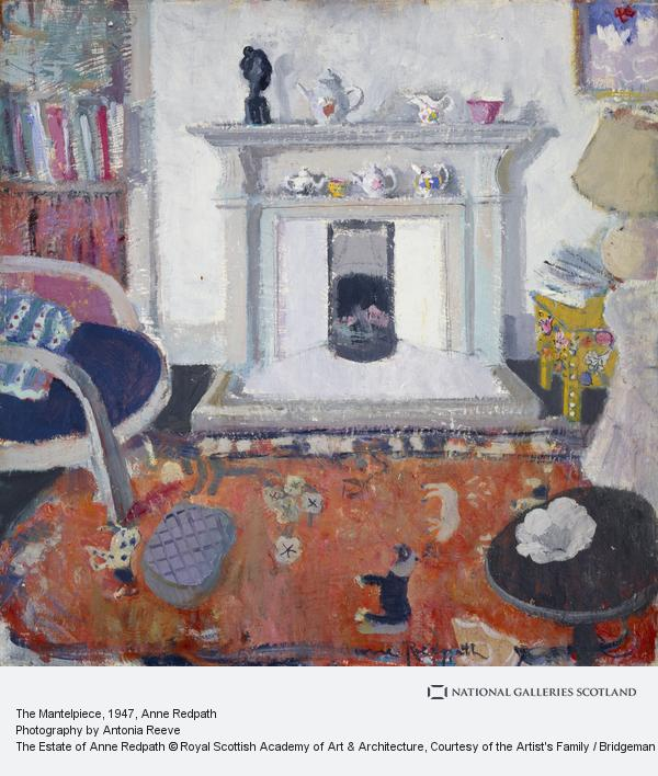 Anne Redpath, The Mantelpiece (About 1947)