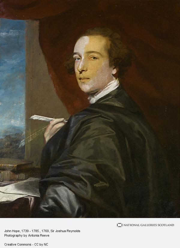 Sir Joshua Reynolds, John Hope, 1739 - 1785.