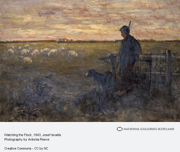 Josef Israëls, Watching the Flock