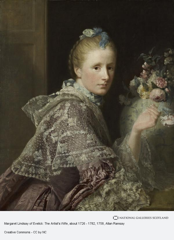 Allan Ramsay, The Artist's Wife: Margaret Lindsay of Evelick, c 1726 - 1782