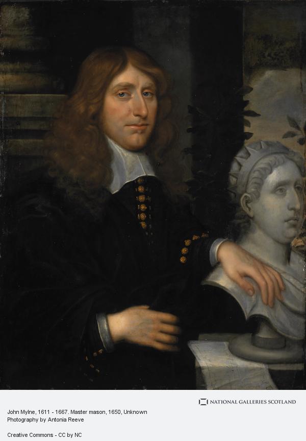 Unknown, John Mylne, 1611 - 1667. Master mason (About 1650)