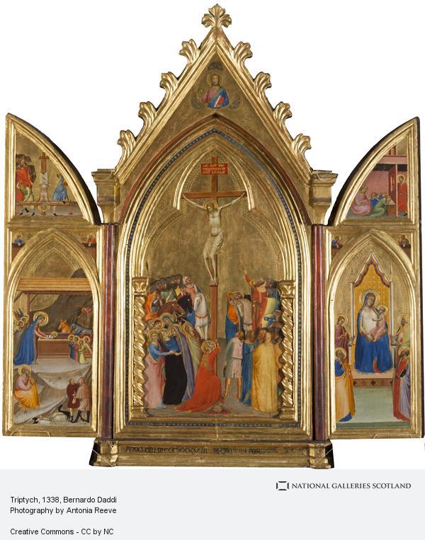 Bernardo Daddi, Triptych (1338)