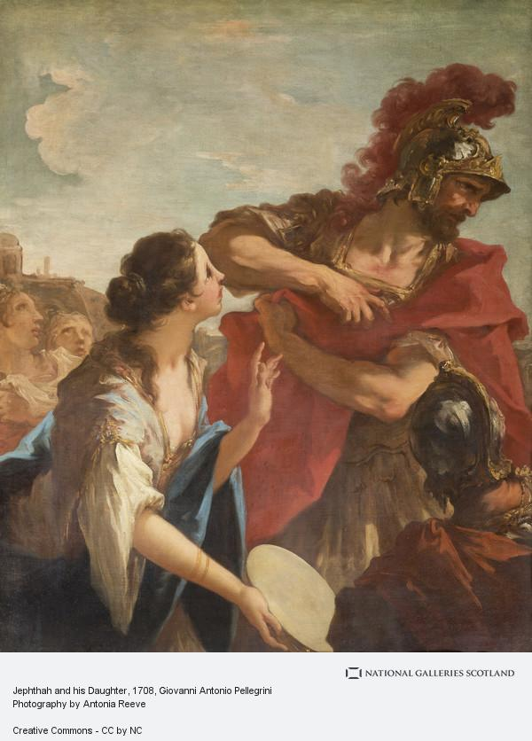 Giovanni Antonio Pellegrini, Jephthah and his Daughter