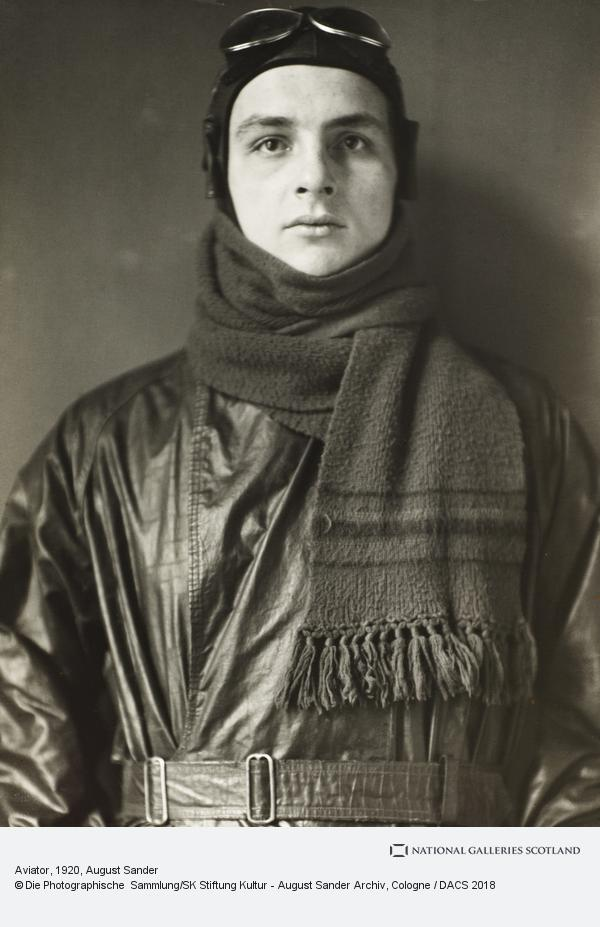 August Sander, Aviator, 1920 (1920)