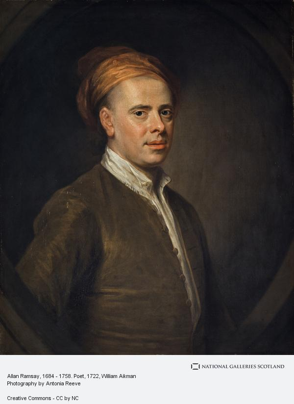 William Aikman, Allan Ramsay, 1684 - 1758. Poet (1722)