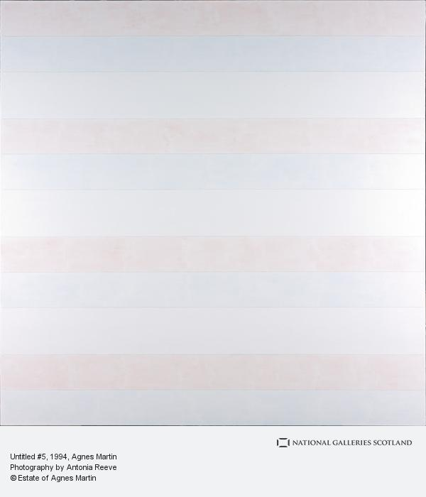 Agnes Martin, Untitled # 5 (1994)