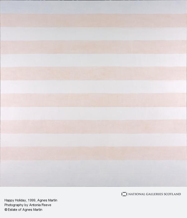 Agnes Martin, Happy Holiday (1999)