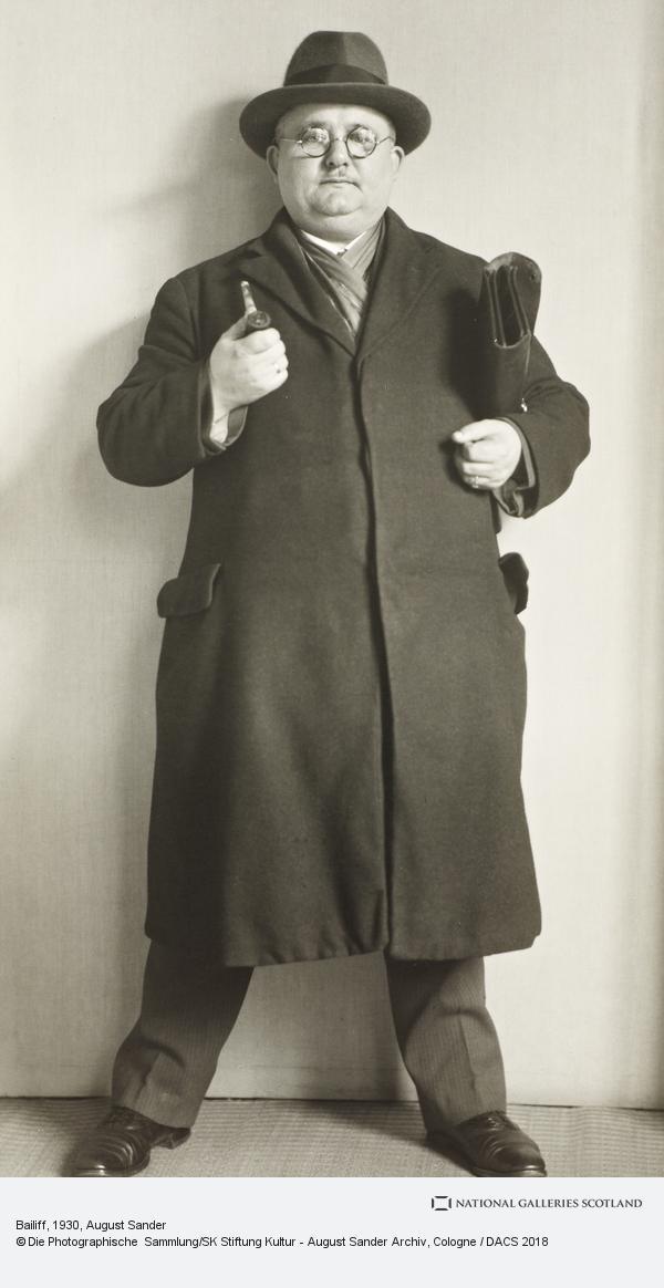 August Sander, Bailiff, c.1930 (about 1930)