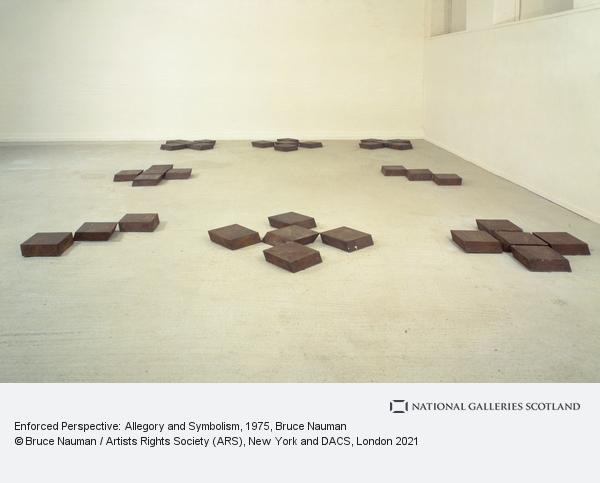 Bruce Nauman, Enforced Perspective: Allegory and Symbolism (1975)