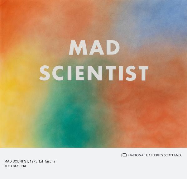 Ed Ruscha, MAD SCIENTIST (1975)