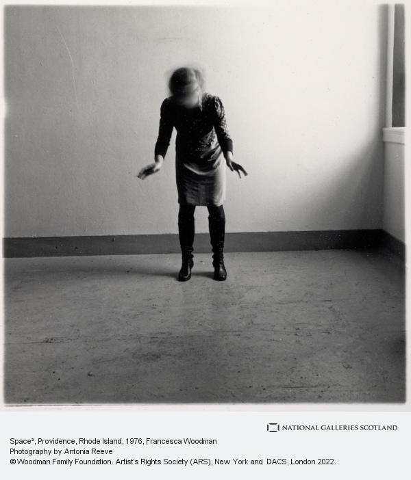 Francesca Woodman, Space 2, Providence, Rhode Island (1975-1978)