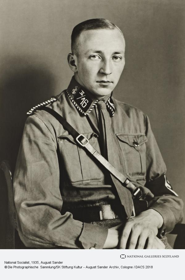 August Sander, National Socialist, about 1935 (about 1935)