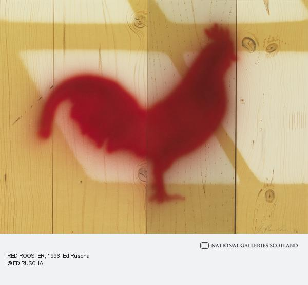 Ed Ruscha, RED ROOSTER