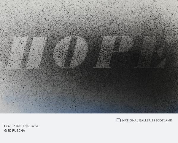 Ed Ruscha, HOPE (1998)