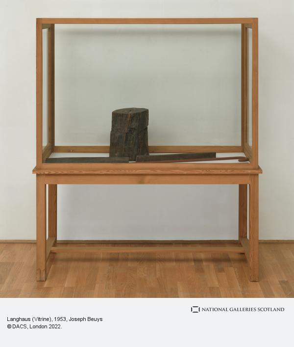 Joseph Beuys, Langhaus (Vitrine)