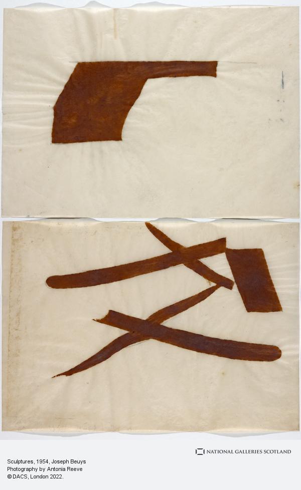 Joseph Beuys, Sculptures (1954)