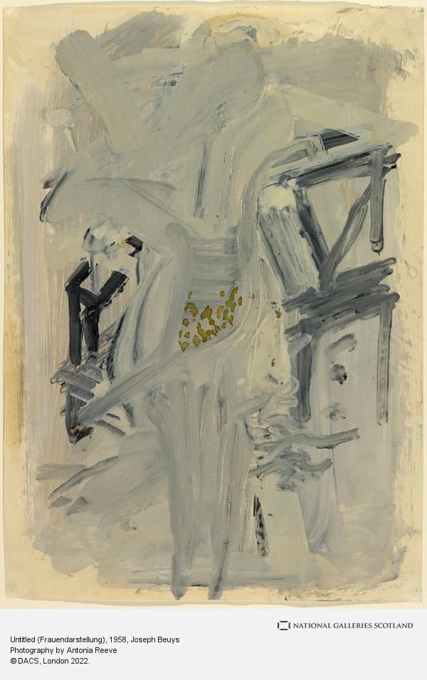 Joseph Beuys, Untitled (Frauendarstellung) (1958)