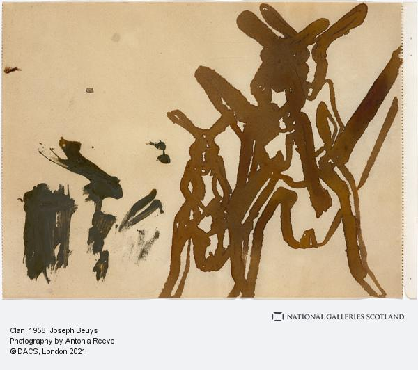 Joseph Beuys, Clan (1958)