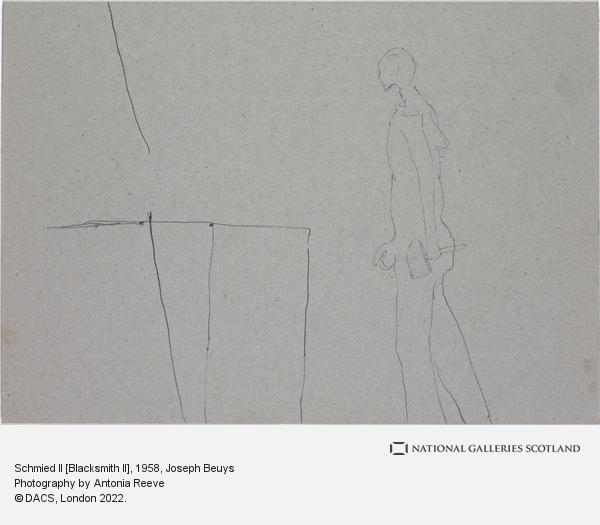 Joseph Beuys, Schmied II [Blacksmith II] (1958)