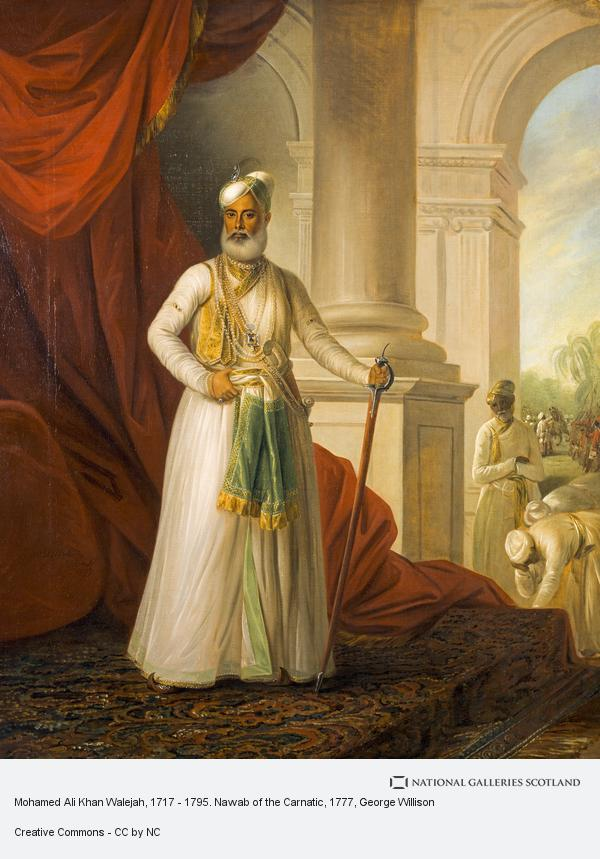 George Willison, Mohamed Ali Khan Walejah, 1717 - 1795. Nawab of the Carnatic (1777)