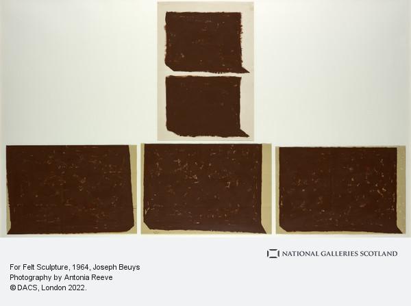 Joseph Beuys, For Felt Sculpture (1964)