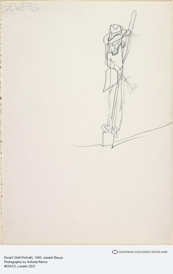 Joseph Beuys, Dwarf (Self-Portrait) (1965)