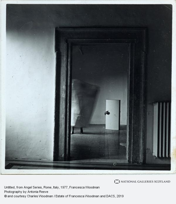 Francesca Woodman, Untitled, from Angel Series, Rome, Italy