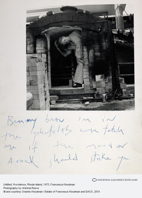 Francesca Woodman, Untitled, 1975-1980 (1975-1980)