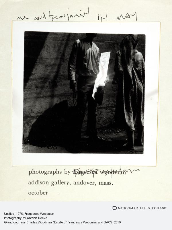Francesca Woodman, Untitled (1975-1980)