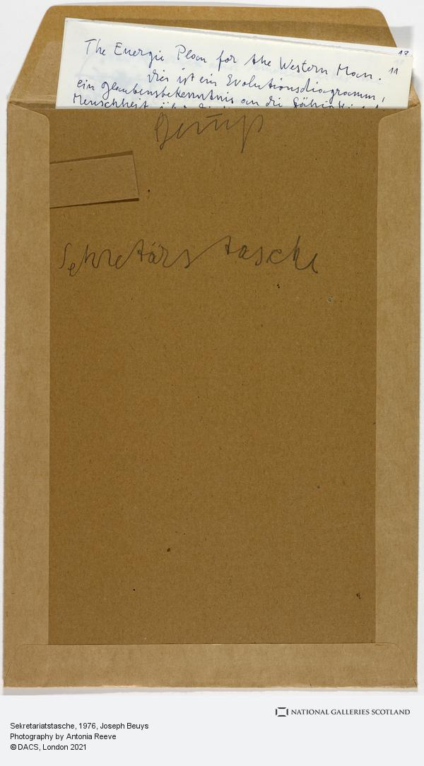 Joseph Beuys, Sekretariatstasche (1976)