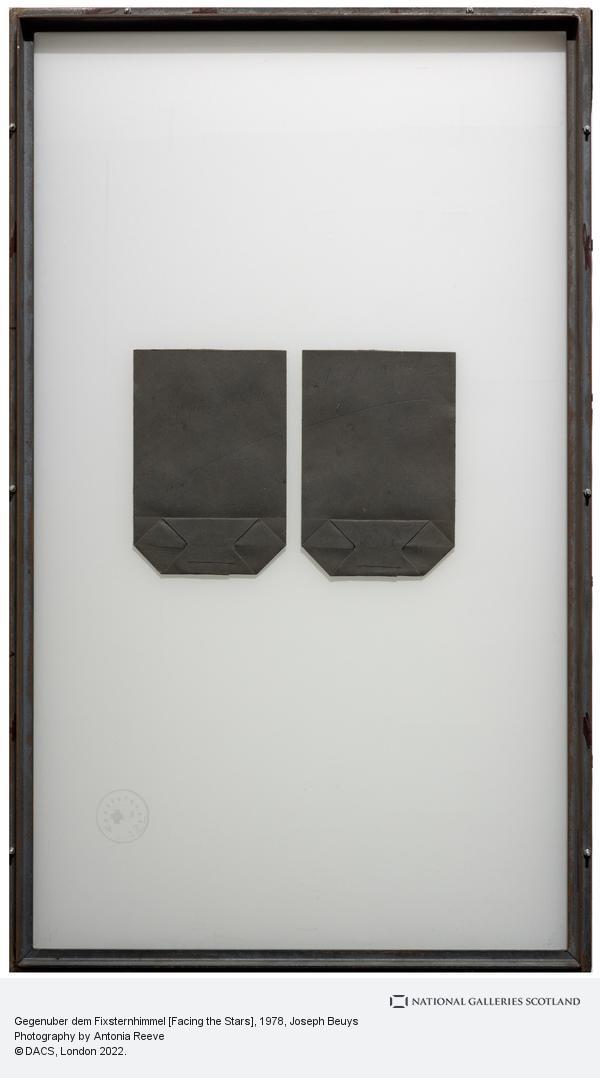 Joseph Beuys, Gegenuber dem Fixsternhimmel [Facing the Stars] (1978)