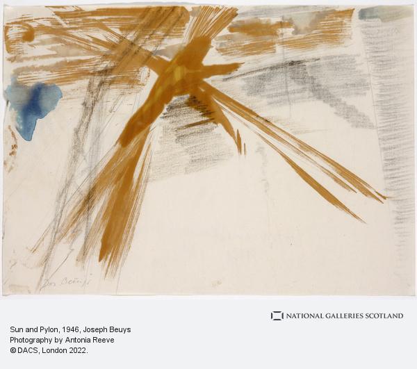 Joseph Beuys, Sun and Pylon (1946)