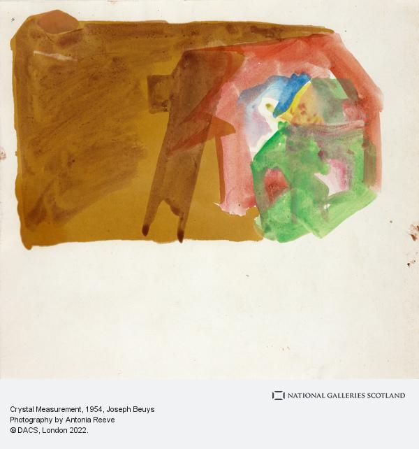 Joseph Beuys, Crystal Measurement (1954)