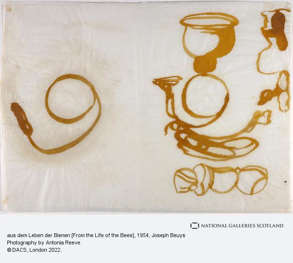 Joseph Beuys, aus dem Leben der Bienen [From the Life of the Bees] (1954)