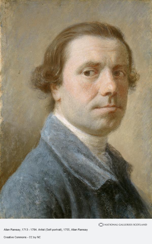 Allan Ramsay, Allan Ramsay, 1713 - 1784. Artist (Self-portrait) (About 1755 - 1756)