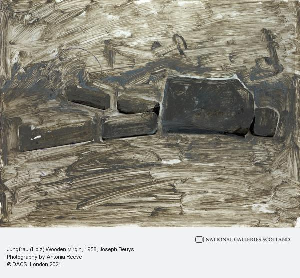 Joseph Beuys, Jungfrau (Holz) Wooden Virgin (1958)