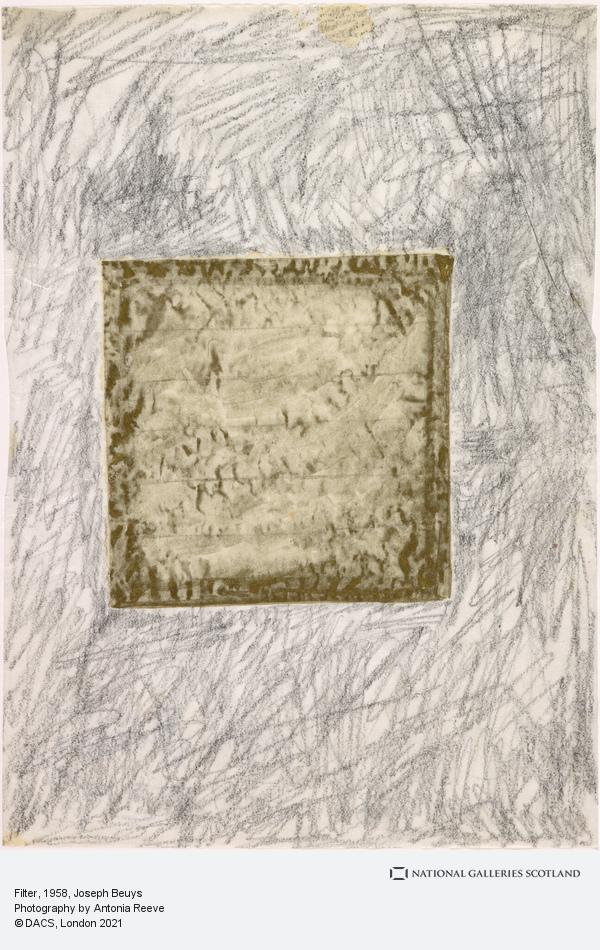 Joseph Beuys, Filter (1958)