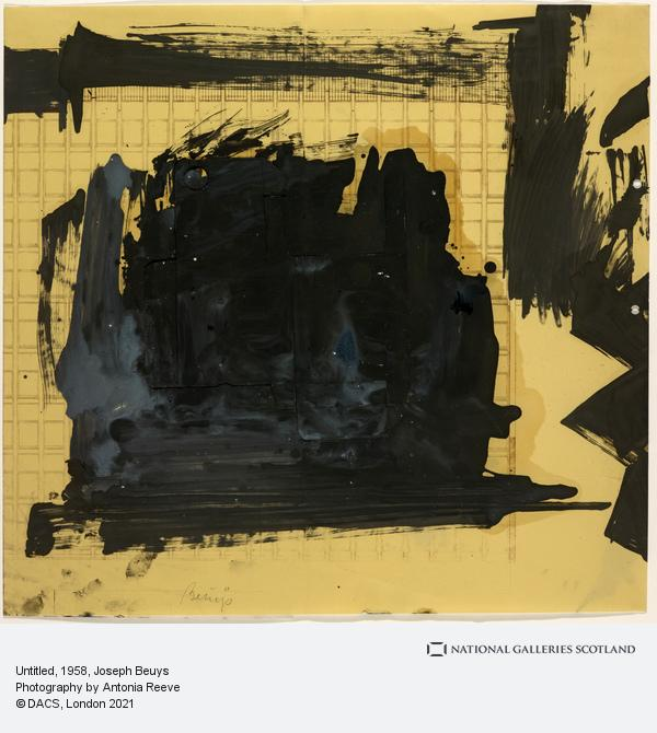 Joseph Beuys, Untitled (1958)