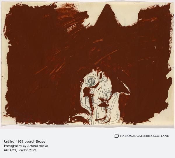 Joseph Beuys, Untitled (1959)