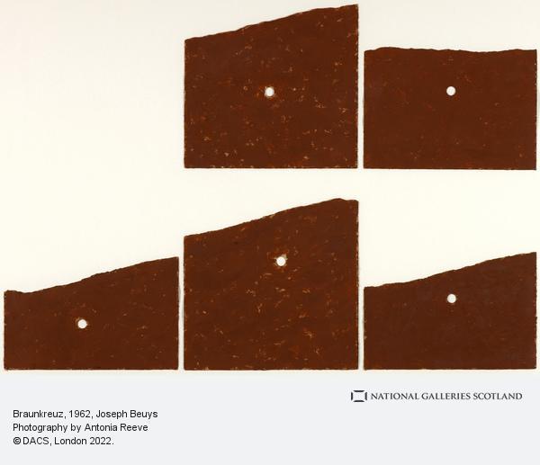Joseph Beuys, Braunkreuz (1962)