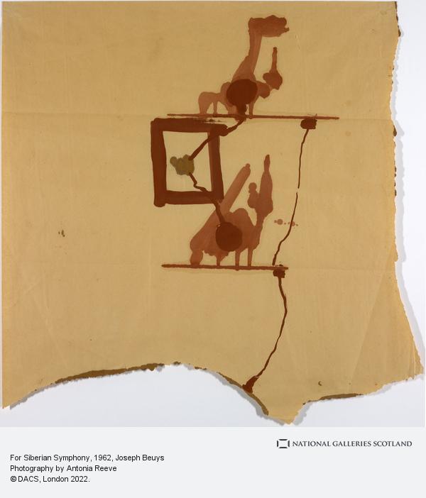 Joseph Beuys, For Siberian Symphony (1962)