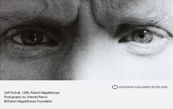 Robert Mapplethorpe, Self Portrait (1988)